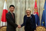 Jadranka Joksimović, ambasador Japana Đunici Marujami
