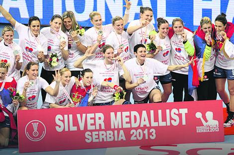 Rukometašice Srbije bile su vicešampionke Evrope 2013.
