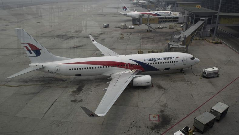 Samolot linii Malaysia Airlines