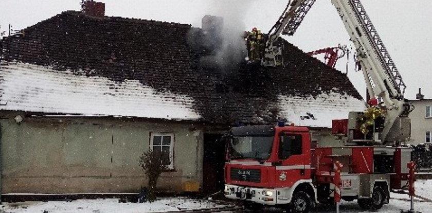 Tragiczny pożar w Międzychodzie. Nie żyją trzy osoby