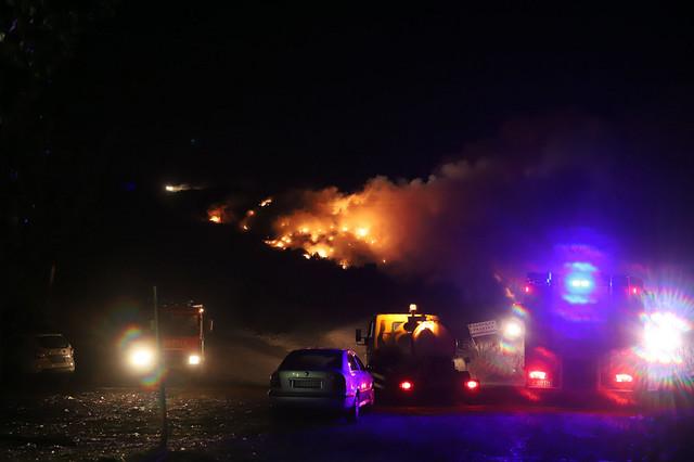 Požar na deponiji u Smederevu