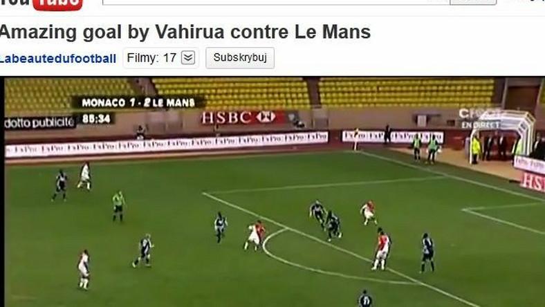Cudowny gol dla Monaco