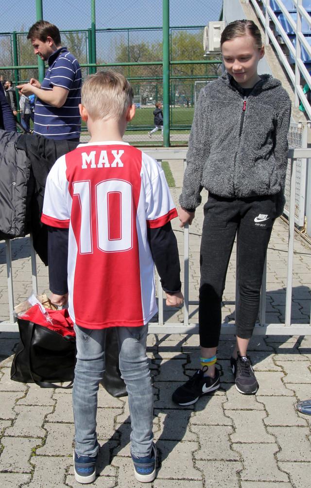 Maks Miltenburg, gost srpskog Ajaksa