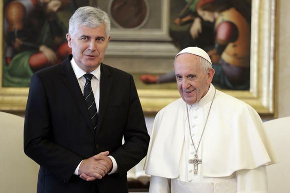 Dragan Čović i papa Franja