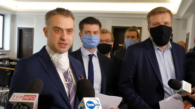 Krzysztof Gawkowski, Krzysztof Śmiszek, Adrian Zandberg