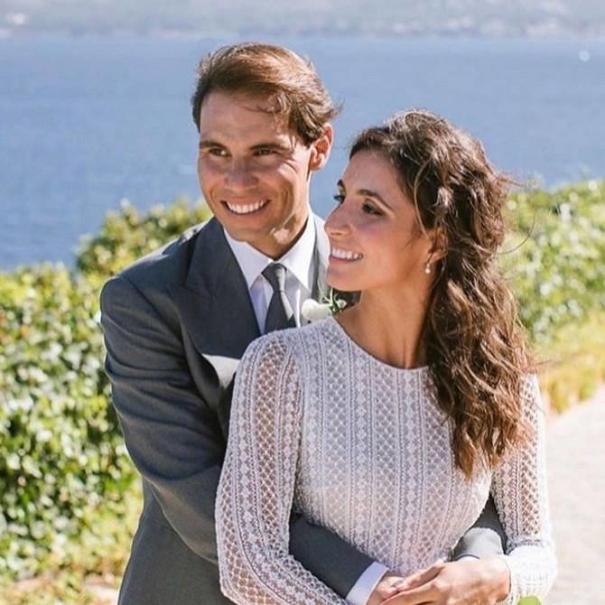 Rafael Nadal i Marija Fransiska Pereljo