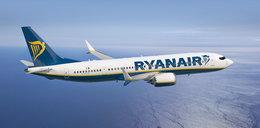 Samolot Ryanair leciał na inną maszynę. Mogły zginąć 363 osoby