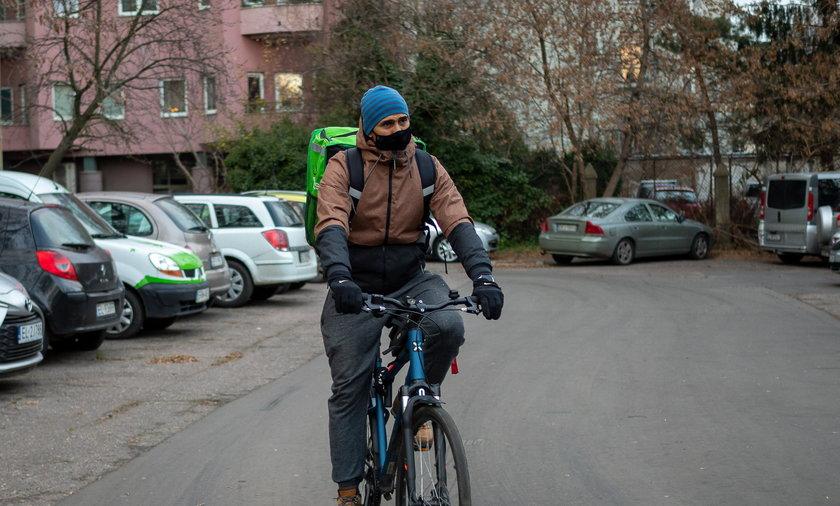 Mistrz olimpijski rozwozi jedzenie po Łodzi