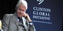 Pożar w drewnianym domu Billa Clintona
