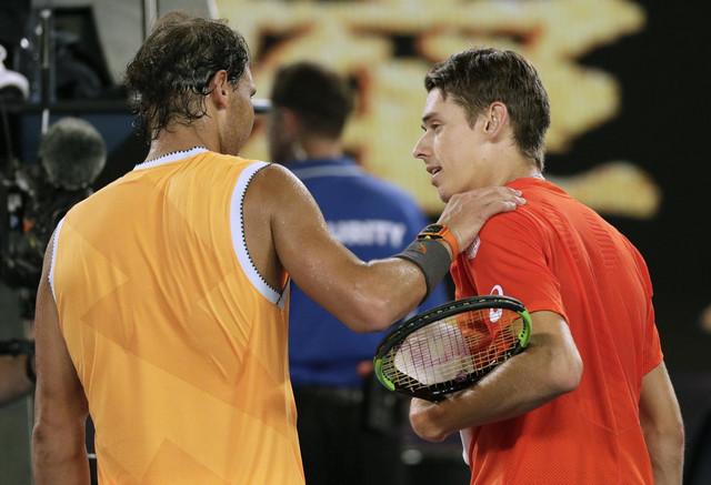 Rafael Nadal i Aleks de Minaur