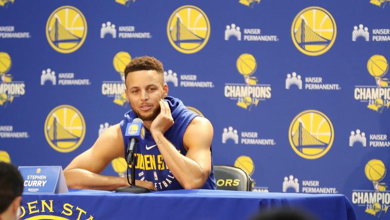 Koszykarz Golden State Warriors Stephen Curry