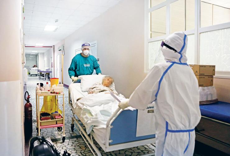 Ortopedija Banjica, kovid bolnica