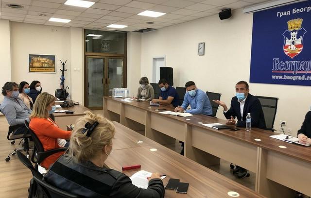 Sastanak Slavka Gaka sa direktorima predškolskih ustanova