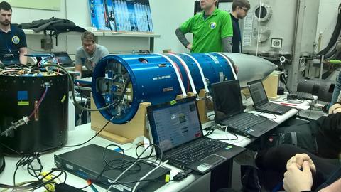 Kosmiczna wiertarka przygotowana przez firmę Scanway z Wrocławia