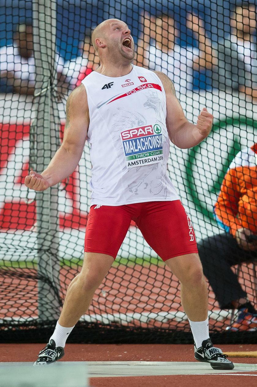 Piotr Małachowski narzeka na swój występ w mistrzostwach Europy
