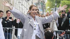 Celine Dion w koszmarnej stylizacji. Znów nie obyło się bez wpadki...