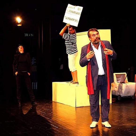 Scena iz predstave ''Mandragola''