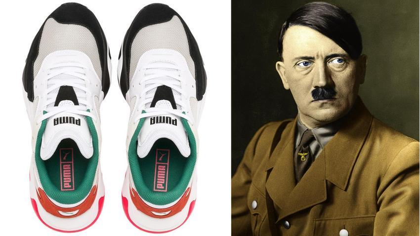 Buty PUMA z podobizną Adolfa Hitlera. Internauci oburzeni