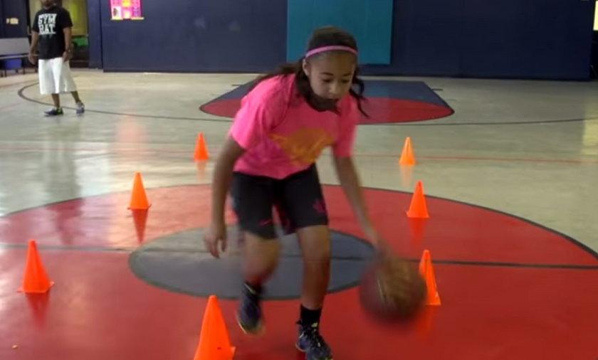 Ta 10-latka chce być pierwszą kobietą w NBA! ZOBACZ