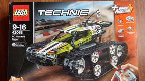 Testujemy własnoręcznie zbudowaną wyścigówkę od LEGO