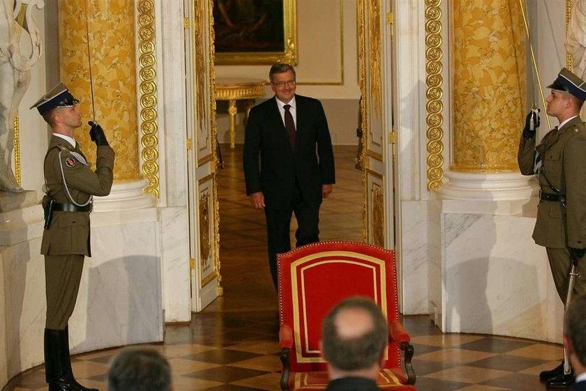 Wałęsa: Prezydent powinien mieszkać w Zamku