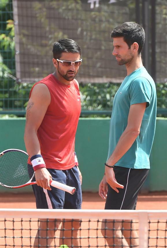 Janko Tipsarević i Novak Đoković