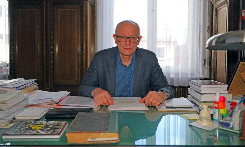 Marek Ćwiek, prezes Okręgu Łódzkiego Związku Nauczycielstwa Polskiego.