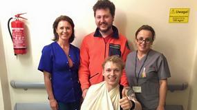 Igor Herbut trafił do szpitala