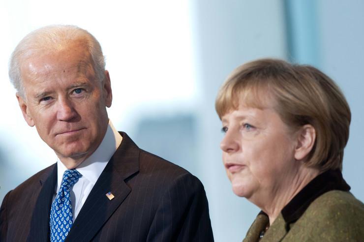 Džo Bajden Angela Merkel