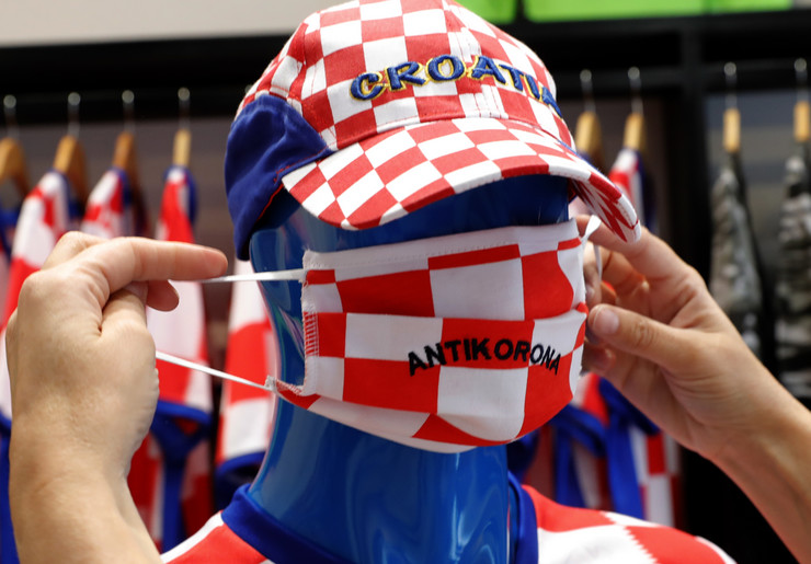 Korona u Hrvatskoj