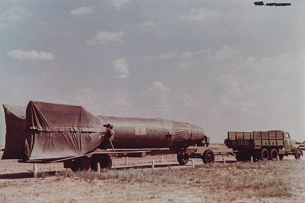 Rakieta R-1 Fot. Mil.ru