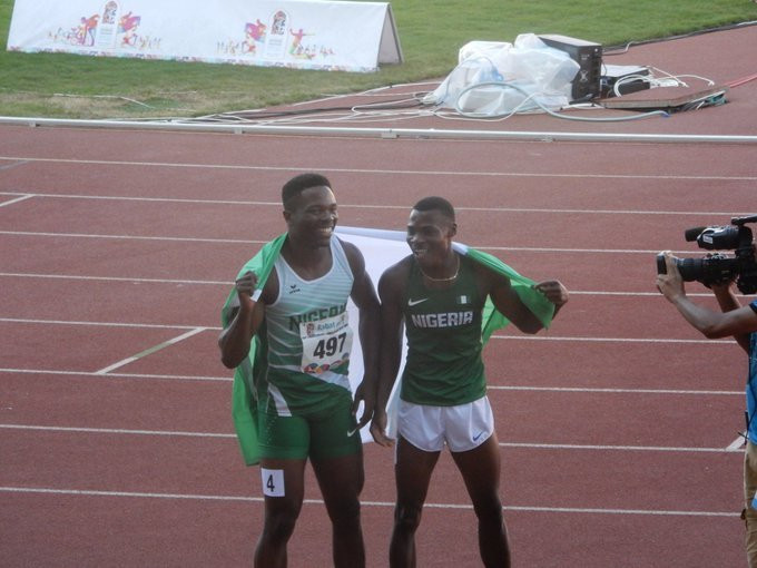 Raymond Ekevwo  and Usheoritse Itsekiri (Twitter/Save our Sports)