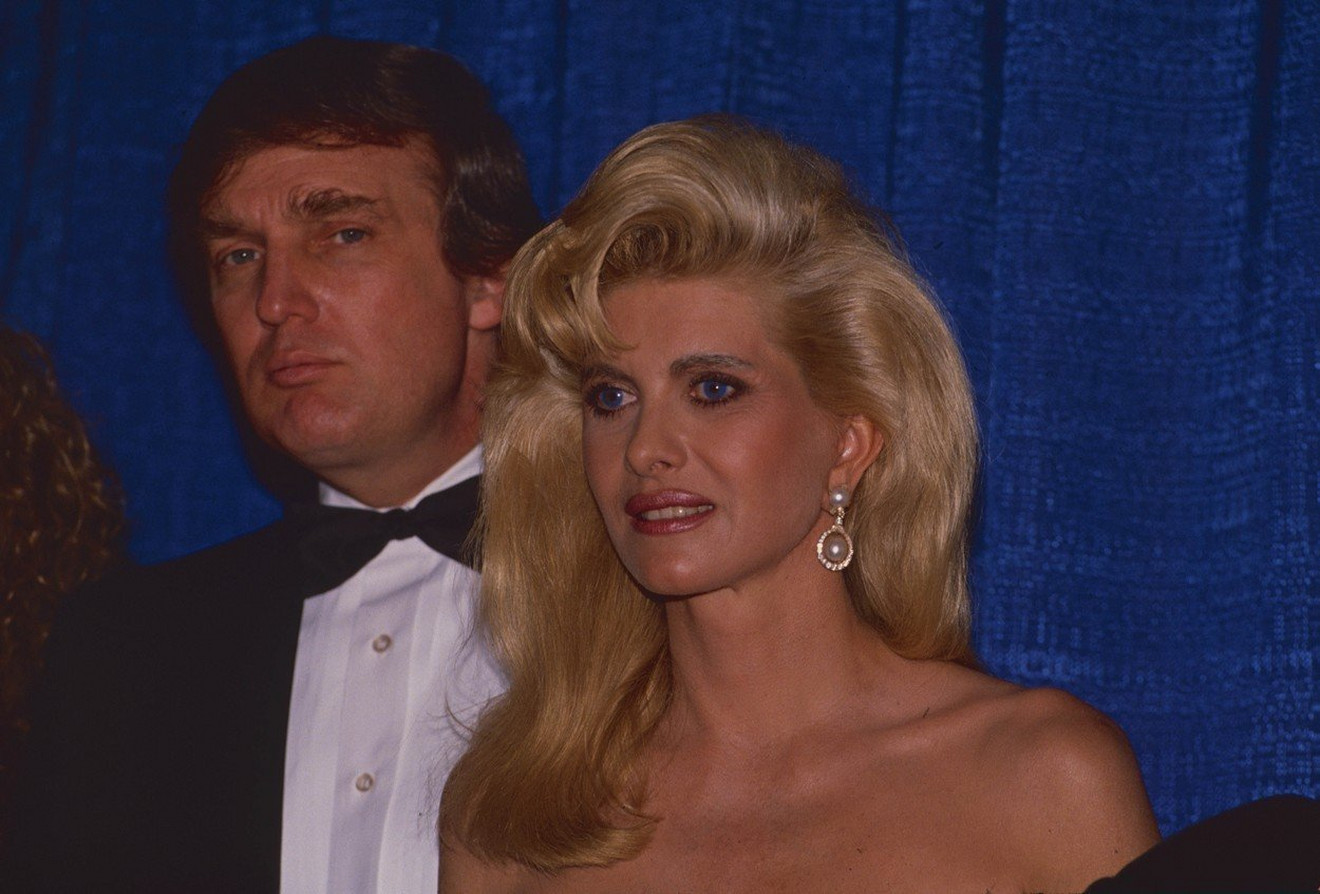 Donald i Ivana Tramp