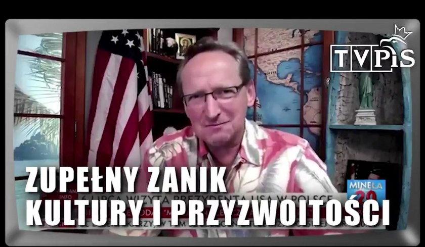 Politycy PO nawiązują m.in. do kontrowersyjnego podróżnika Wojciecha Cejrowskiego