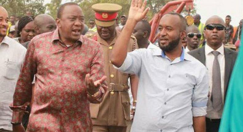 President Uhuru Kenyatta and Mombasa Governor Hassan Joho