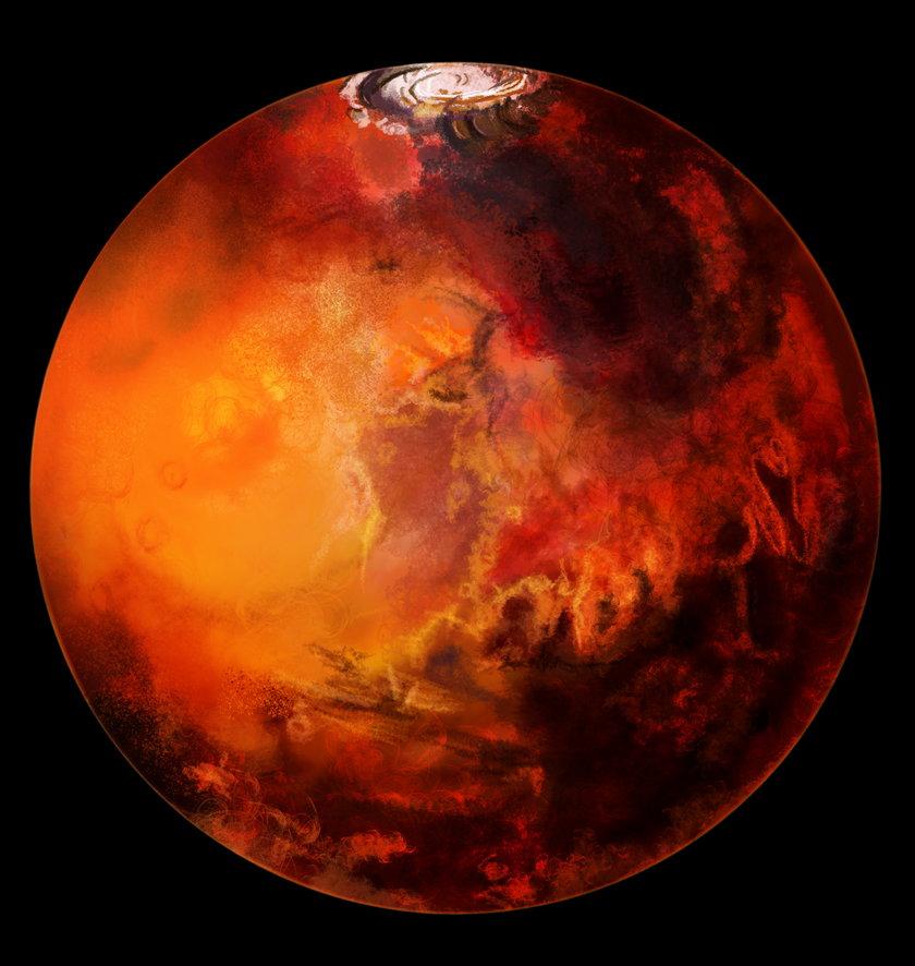 Znalezisko na Marsie