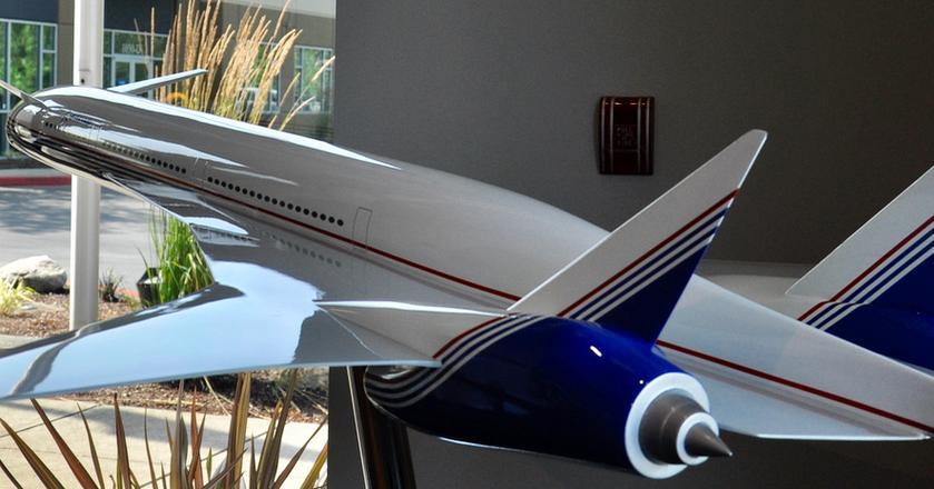 Boeing Sonic Cruiser miał poruszać się z prędkością bliską prędkości dźwięku