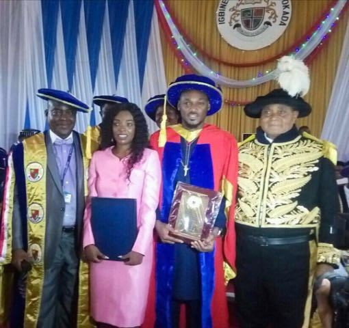 2Face Idibia conferred with honorary degree