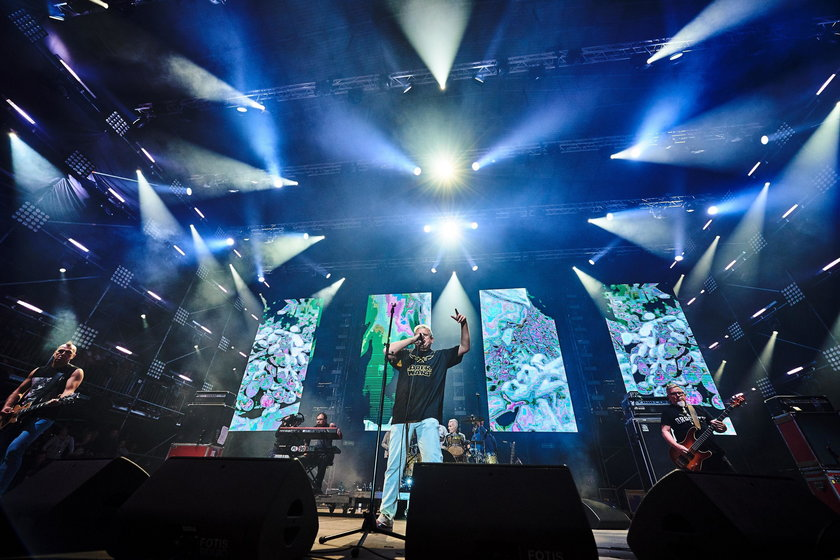 Koncert zespołu Kult na Pol'And'Rock Festival