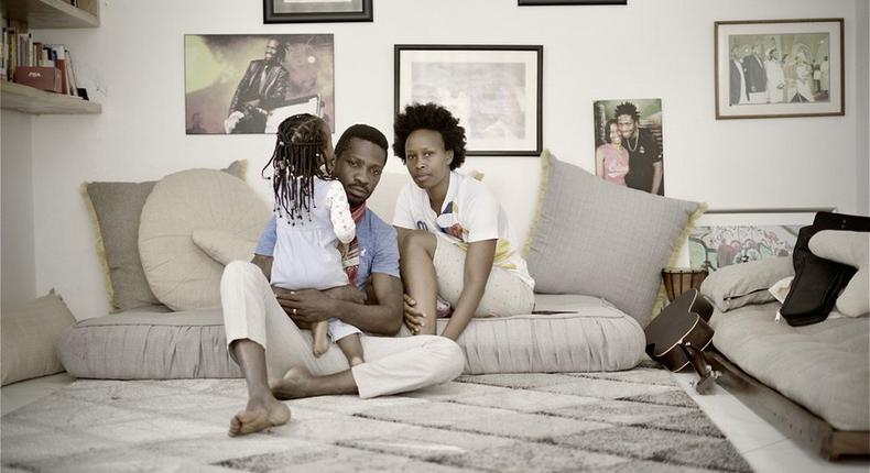 We have run out of food & milk – Bobi Wine says as he is under house arrest with an 18 months child