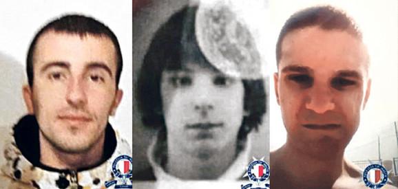 Uhapšeni: Srđan Dragić, Miloš Marković i Ivan Božić
