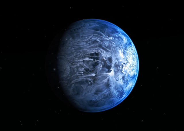Na planeti HD 189733b pada staklo umesto kiše