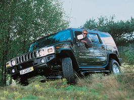 Hummer H2 - z archiwum Auto Świata