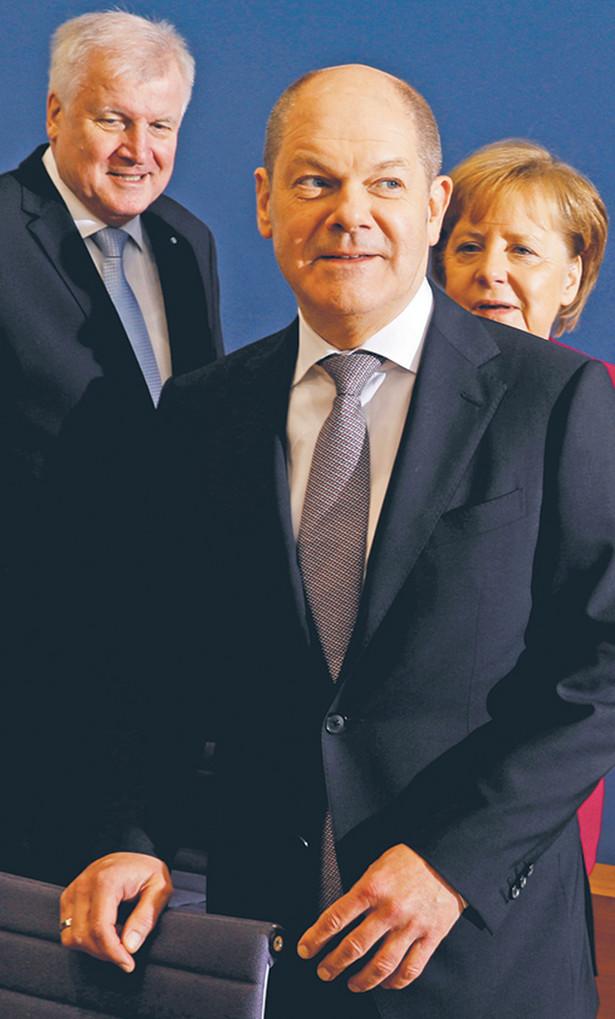 Olaf Scholz, minister finansów Niemiec, kandydat na na kanclerza Niemiec