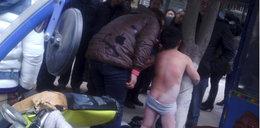 Wychłostał syna za wagary. Na ulicy!