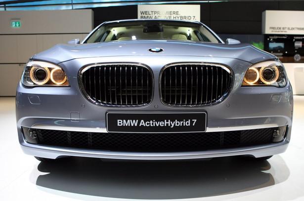 BMW w ciągu ostatnich trzech lat podwoiła sprzedaż aut w Polsce. na zdjęciu BMW ActiveHybrid 7.
