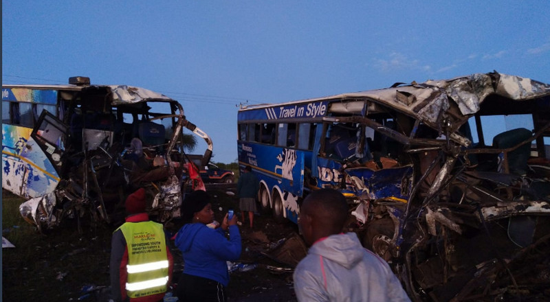 5 Killed, 62 rushed to Hospital in early Morning Accident
