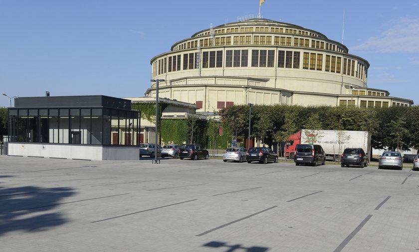 Parking pod Halą Stulecia