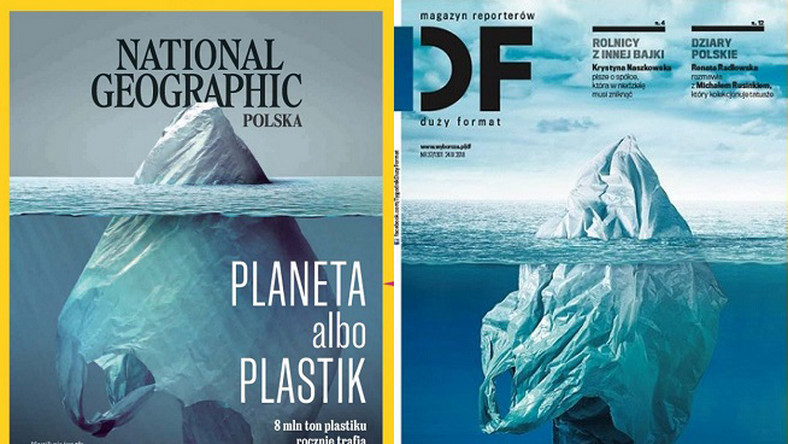 "Okładka podobna do ""National Geographic"". Szef ""DF"": nie ma mowy o plagiacie"