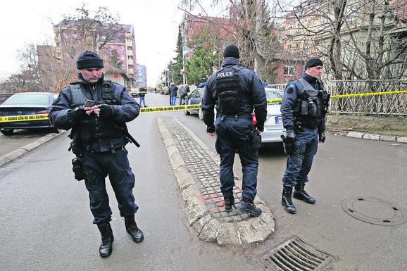 Mesto ubistva Olivera Ivanovića